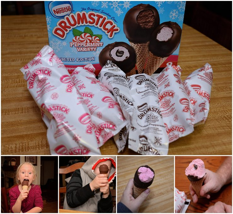 Drumstick Peppermint for entertaining | #Feast4All #CollectiveBias #ad