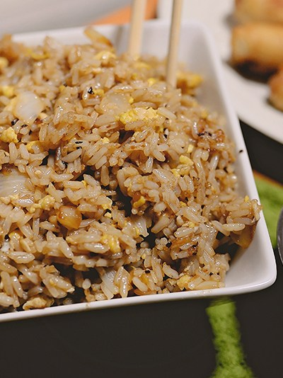 Restaurant-Inspired Party Tips + Fried Rice Recipe