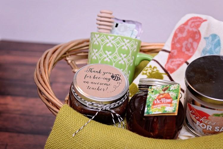 Honey Brown Sugar Scrub and Gift Basket