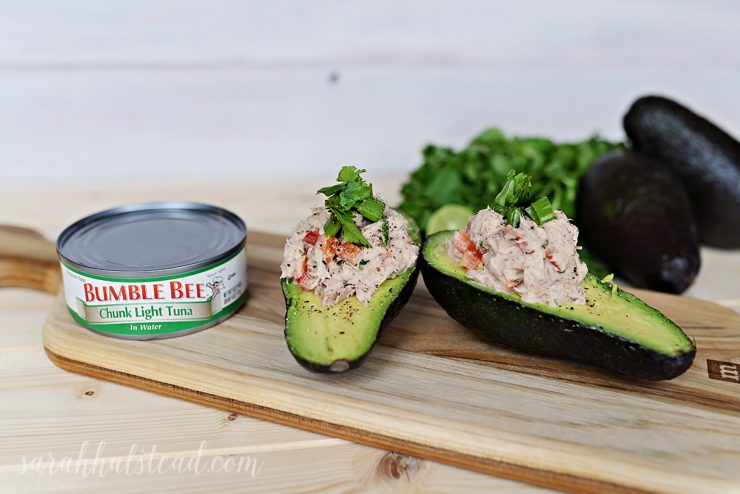 Avocado Lime Tuna Salad