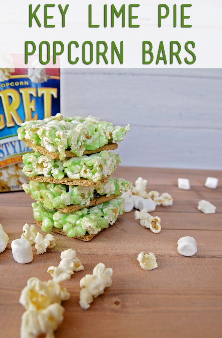 Key Lime Pie Popcorn Bars | #sp #PopSecretForts