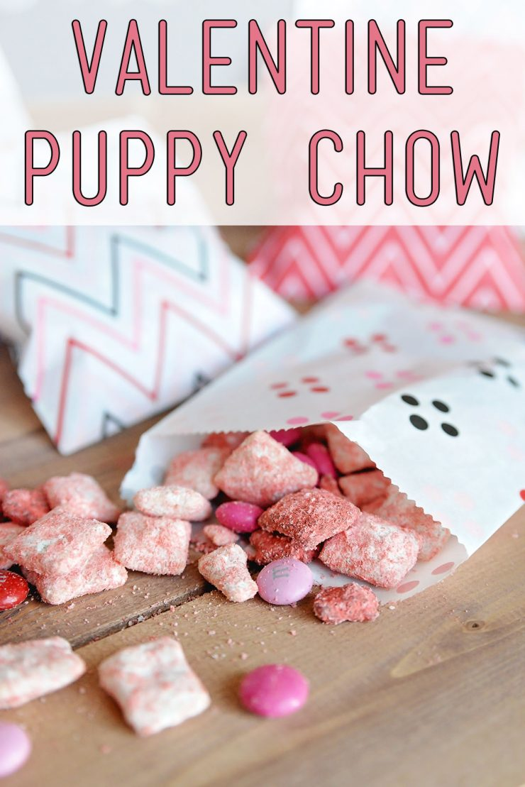 Großartig Valentine Puppy Chow