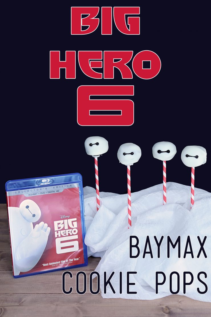 Big Hero 6 Movie Night   Baymax Cookie Pops   #ad #CollectiveBias #BigHero6MovieNight