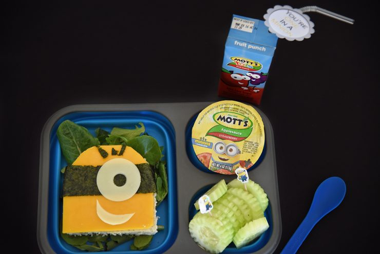 Minions Bento Lunch Box | #ad #CollectiveBias #MottsAndMinions