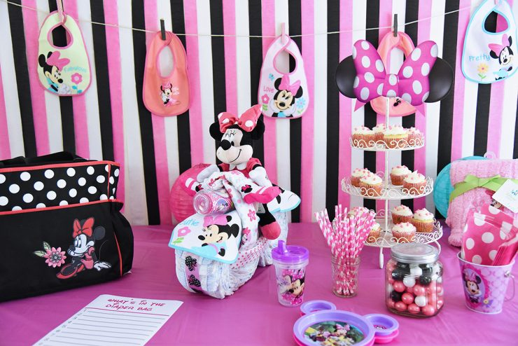 Attractive Minnie Mouse Baby Shower