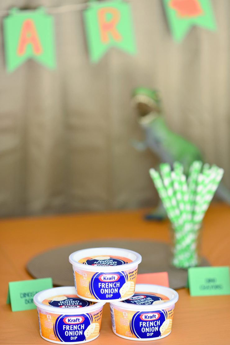 Dinosaur Party | ad #CollectiveBias #DipYourWay