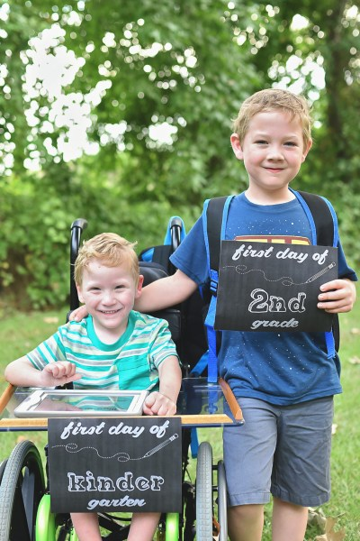 First Day of School 2015