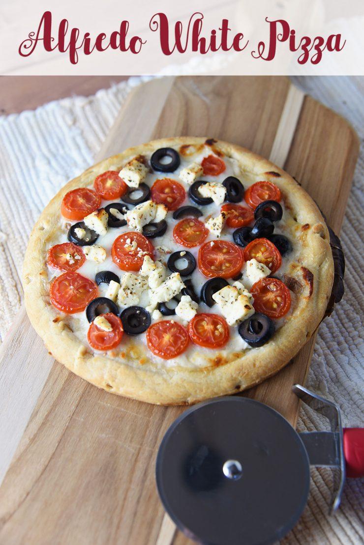 Alfredo White Pizza