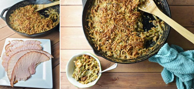Green Bean Casserole Recipe | #ForTheLoveOfHam #CollectiveBias #ad