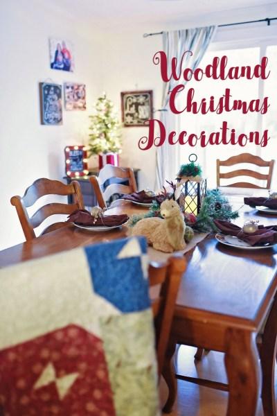 Woodland Christmas Decorations