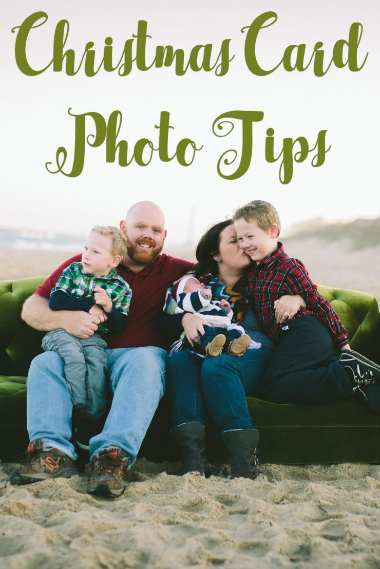 Christmas Card Photo Tips
