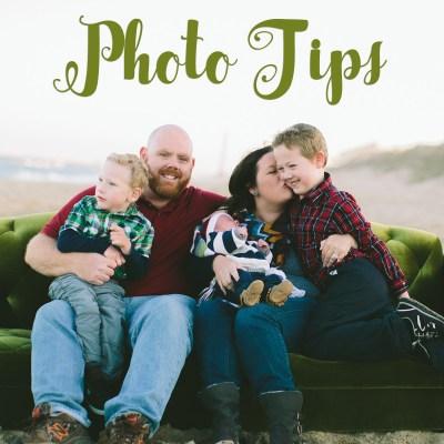 Christmas Card Photo Tips