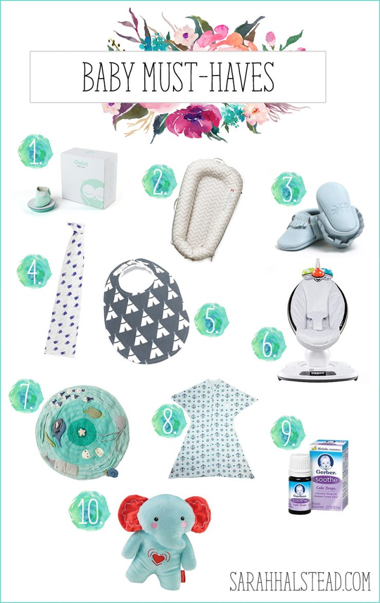 Baby Must-Haves + Giveaway