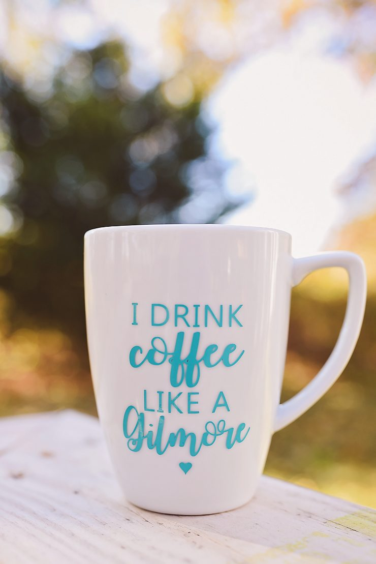 Gilmore Girls Coffee Cup Free Silhouette File Download