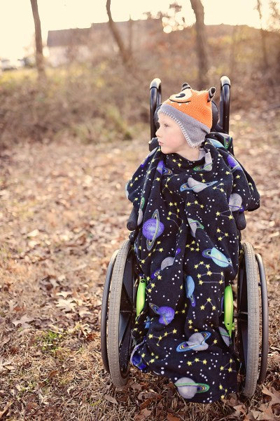 Wheelchair Cape | Adaptive Clothing