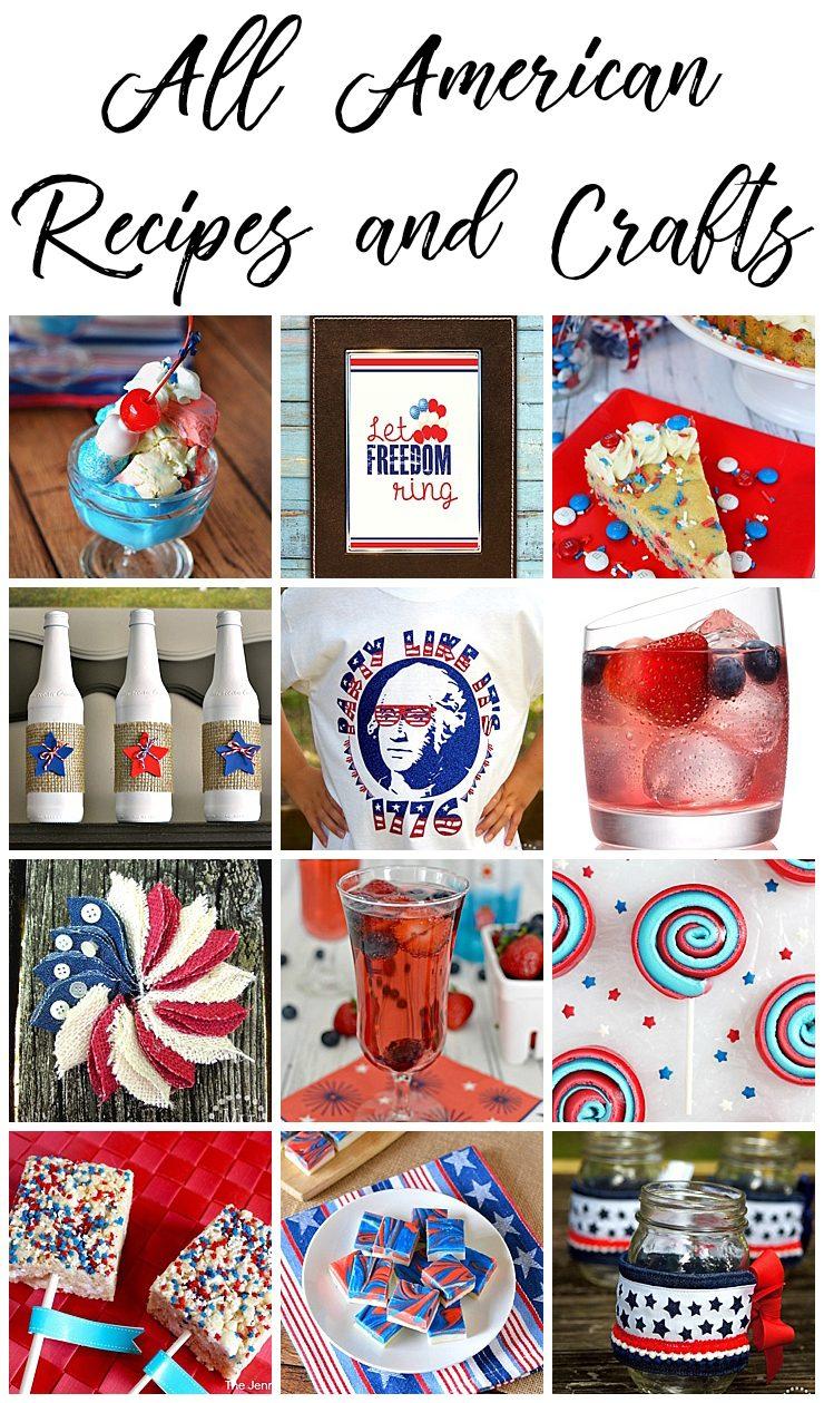 All American Recipes & Crafts