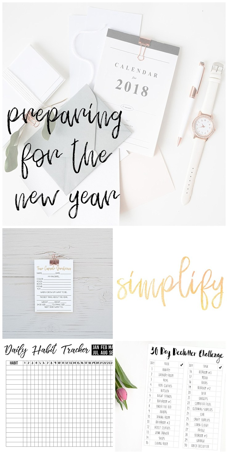 Preparing For The New Year