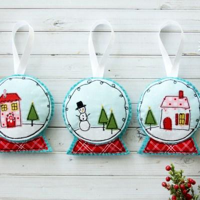 Simple DIY Christmas Ornaments