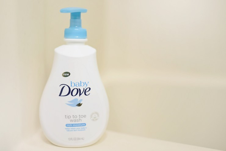 Baby Dove Helps Severely Dry Skin