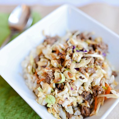 Egg Roll In A Bowl Made Easy With Pop & Cook
