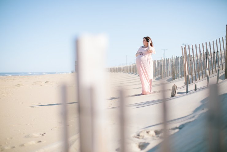 Beach Maternity Photos at the Outer Banks