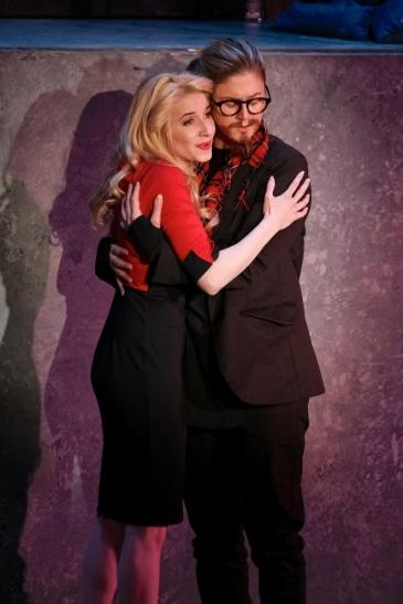 Sarah Labiner, soprano. Zerbinetta (Ariadne auf Naxos). A.J. Fletcher Opera Institute: Photo: Peter Mueller