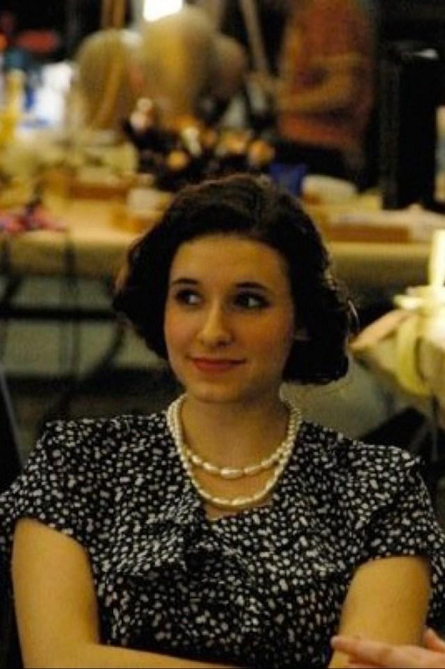 Sarah Labiner, Soprano. Graduation Girl (Street Scene): A.J. Fletcher Opera Institute. Photo: Rachel O'Reilly