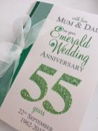 emerald wedding anniversary