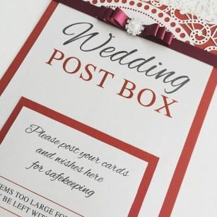 Afternoon tea post box