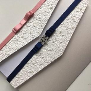 Lace paper pocketfolds