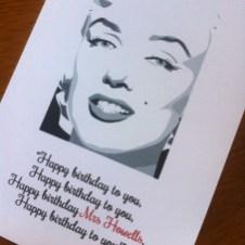 birthday - Marilyn Monroe