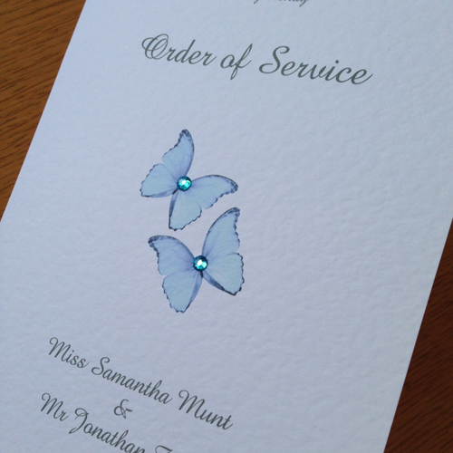 Jewel order of service