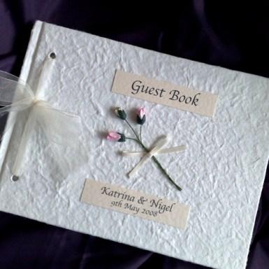 Simplicity guestbook