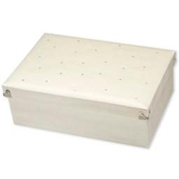 Keepsake box ivory