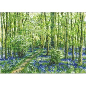 Bluebell Woods card Design
