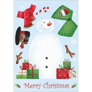 Pop Out Snowman Card Design