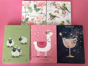New Flamingo Paperie Notebook Designs