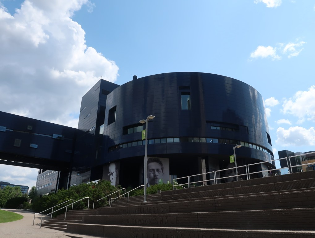 exterior of Guthrie Theater