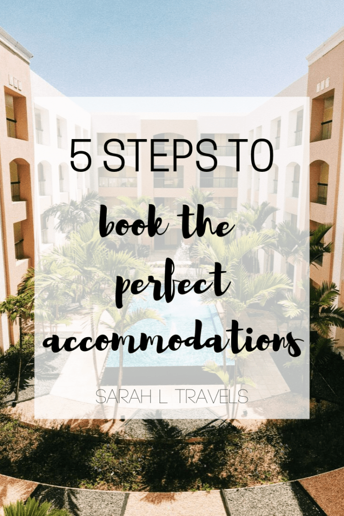 Pinterest: 5 steps to book the perfect accommodations
