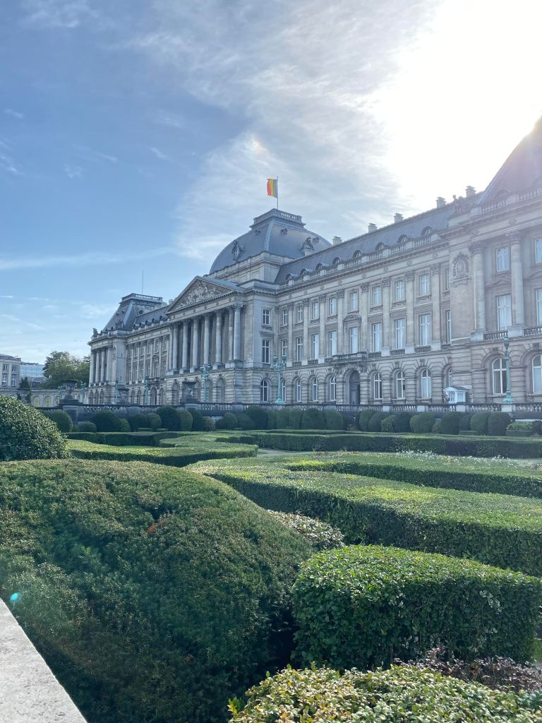 Train Layover in Brussels: Royal Palace of Brussels