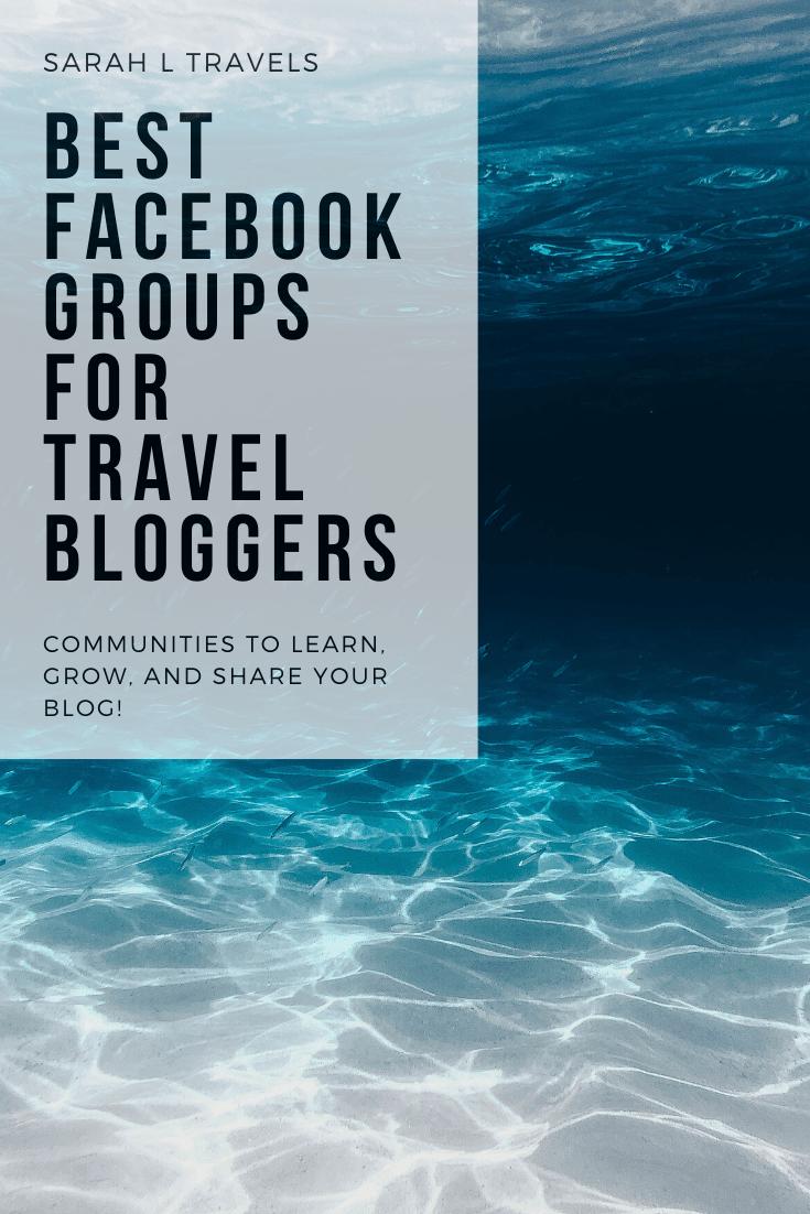 best facebook groups for bloggers: ocean