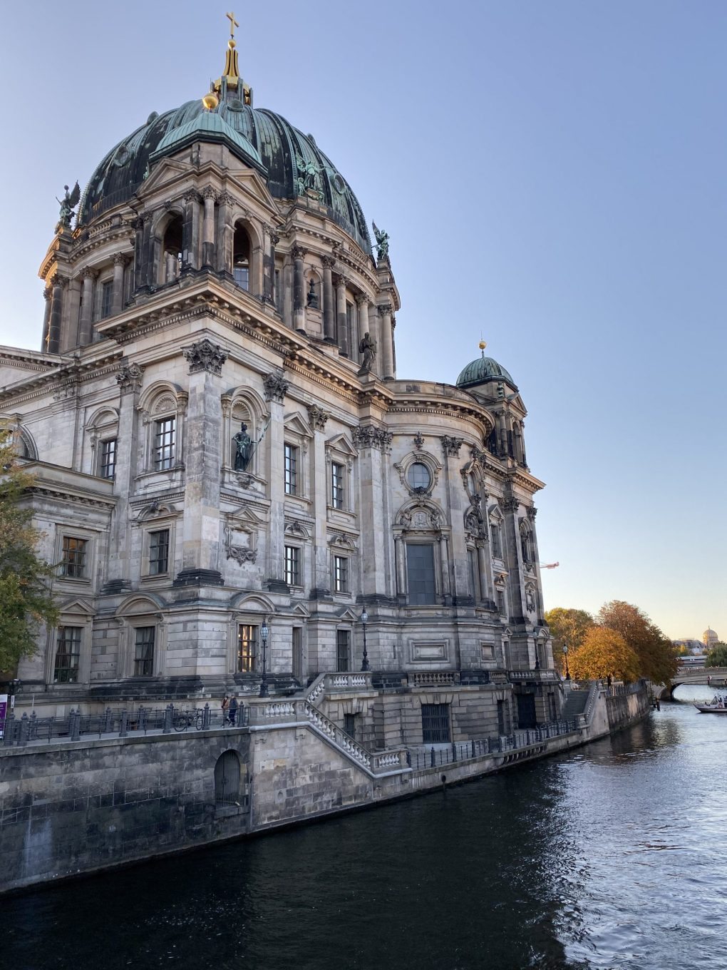 Berlin Cathedral: view from the river