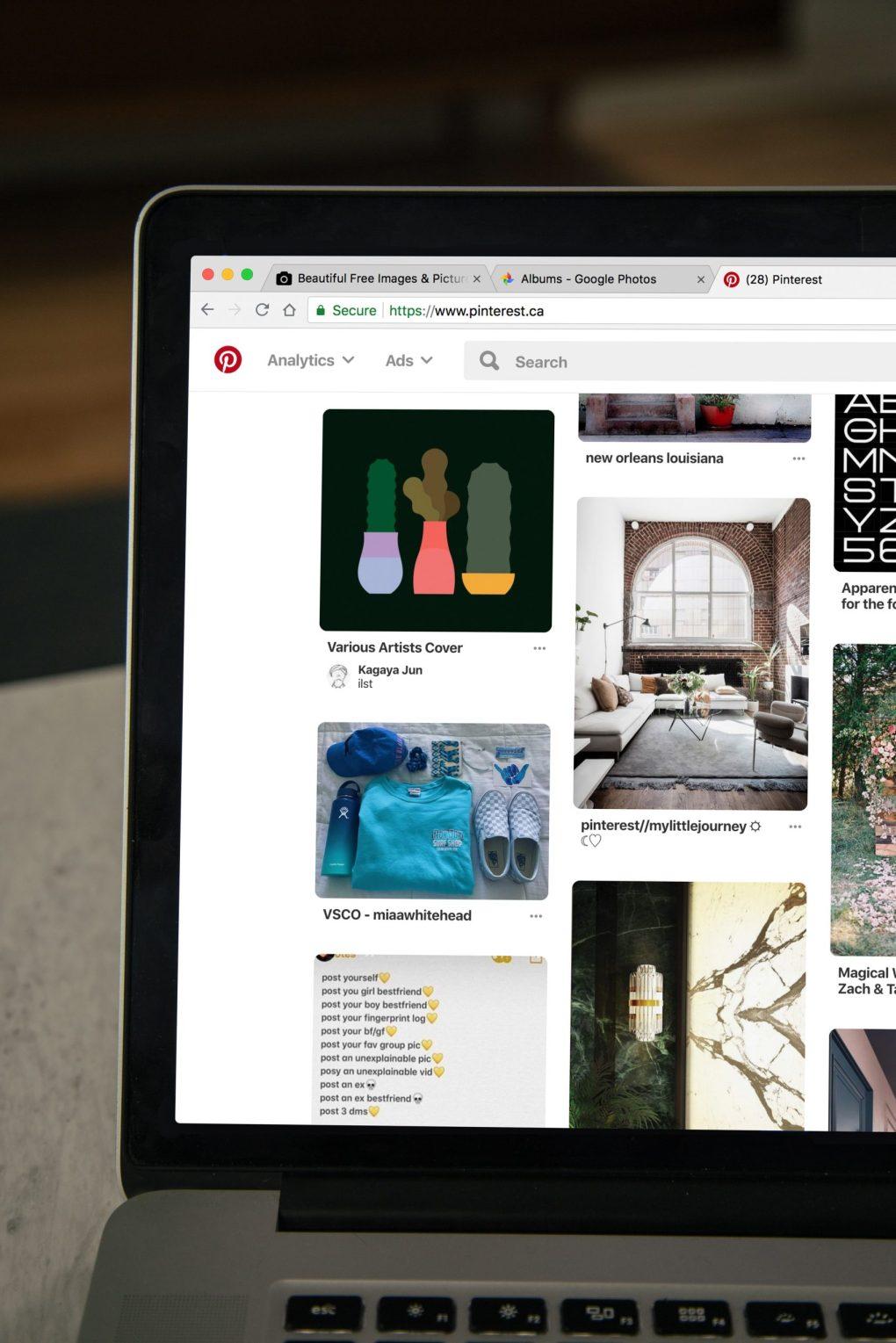 best facebook groups for bloggers:  pinterest