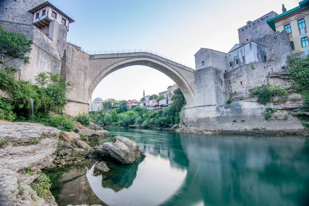 Bridge in Mostar, Bosnia and Herzegovina