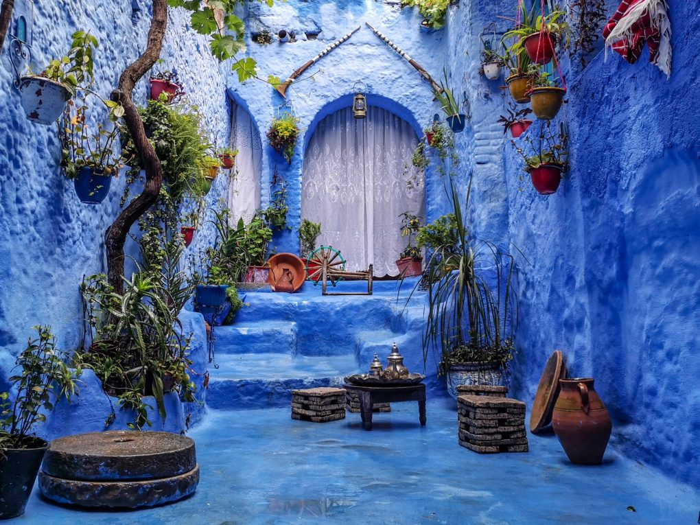 Blue city of Chefchaouen, Morocco