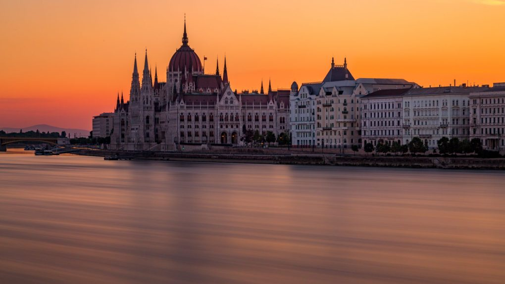 Budapest on the river, Hungary