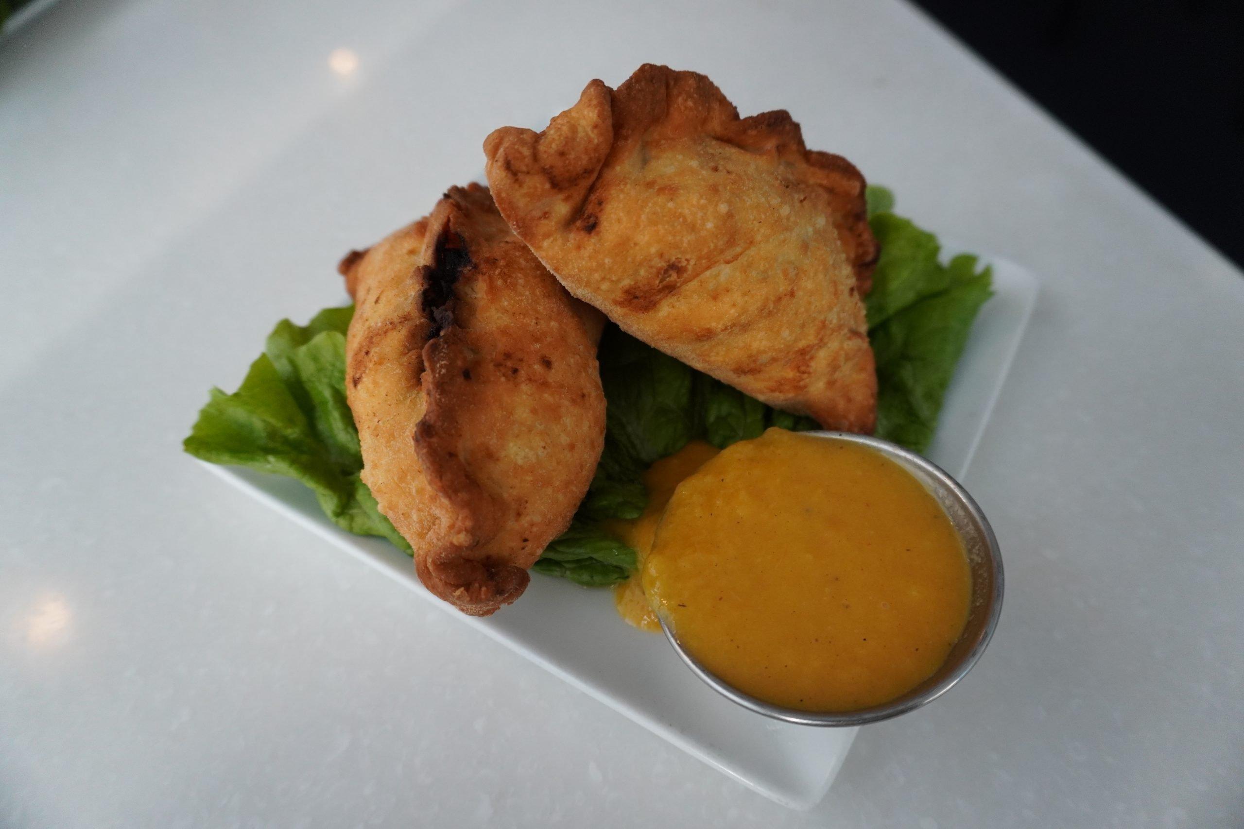 Samosas from Ananda Fuara
