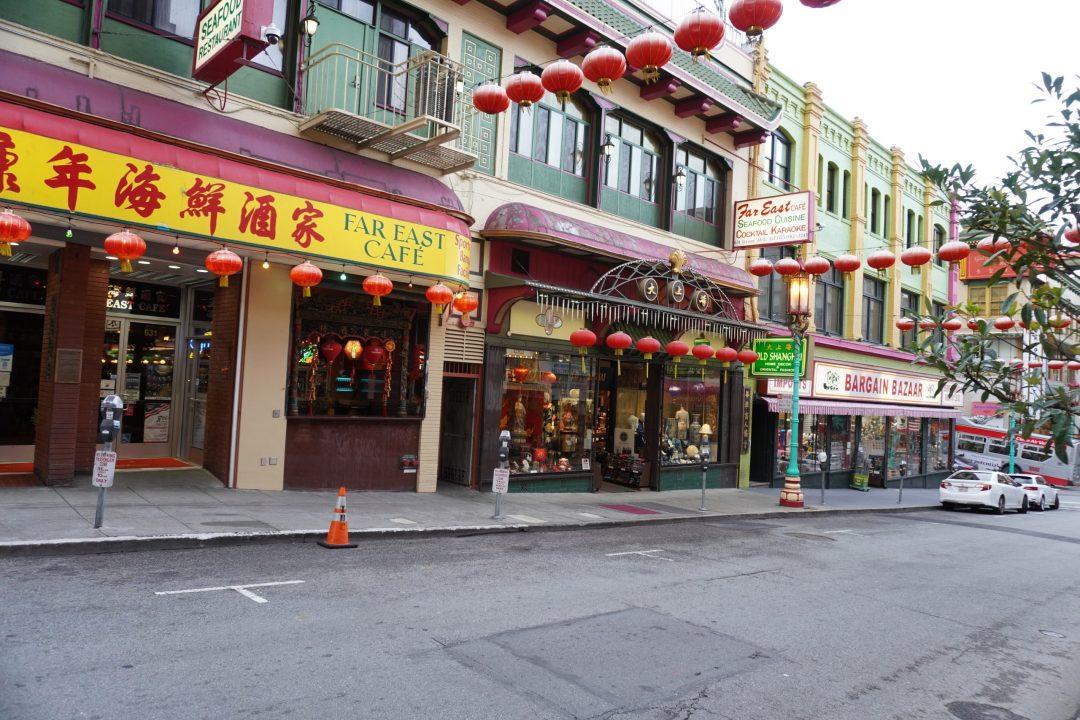 Street of Chinatown, San Francisco