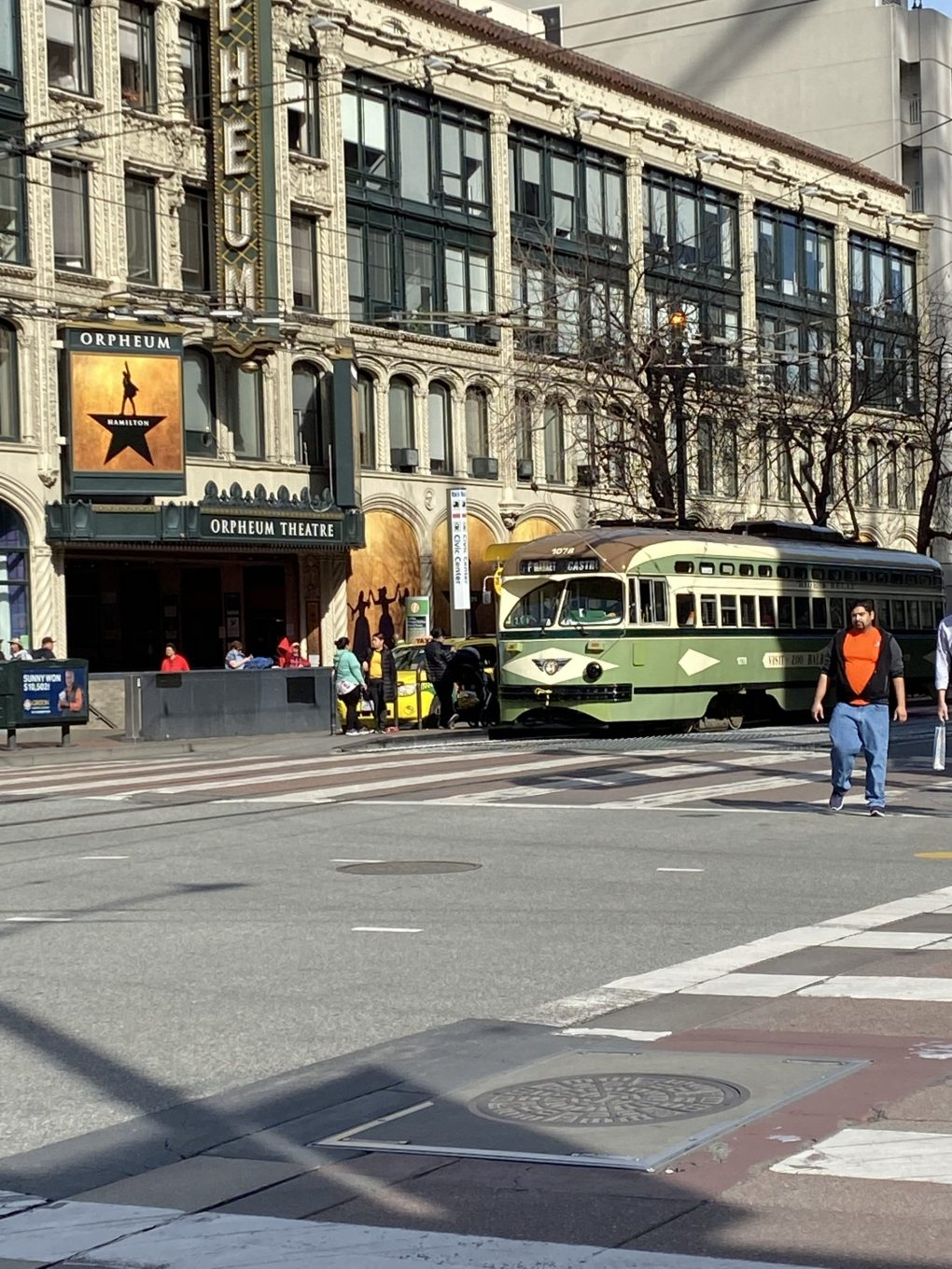 Cable Cars on Market St in San Francisco