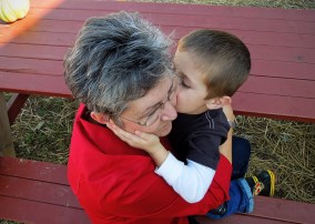 Mamaw kisses!